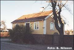 Hus på Trädgårdsgatan i Borgholm på Öland