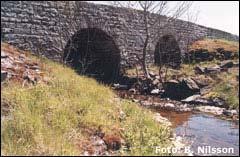 Bro i S Kvinneby på Öland