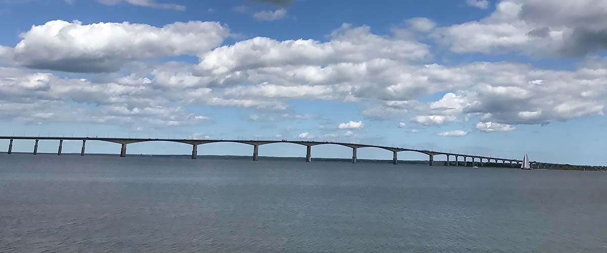 Ölandsbron sedd från Kalmarsidan