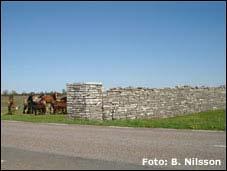 Karl X Gustafs mur på Öland