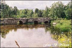 Frösslundabron vid Möckelmossen på Ölands Stora Alvar